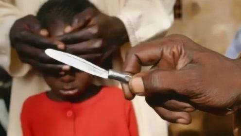 非洲最残忍的陋习,比中国的裹脚还要残忍,至今仍未被废除!