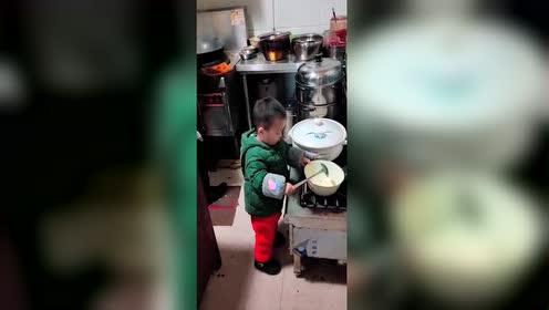 从小有个厨师梦