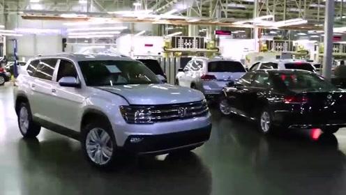 走进大众美国工厂,了解2020款大众途昂Cross Sport制造过程