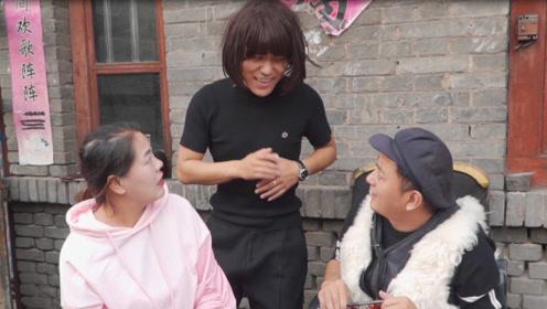 搞笑短剧:弟弟监督夫妻俩减肥,却在俩人面前吃鸡腿,太有趣了