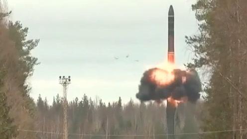俄罗斯亮底牌!成功试射最神秘RS-24洲际导弹