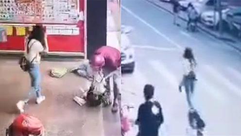 女子为争夺抚养权 偷偷将4岁男童抱起一路狂奔