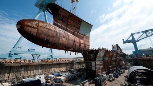 一艘顶上20艘辽宁舰,100万吨巨舰三年完工,使用50项航母技术