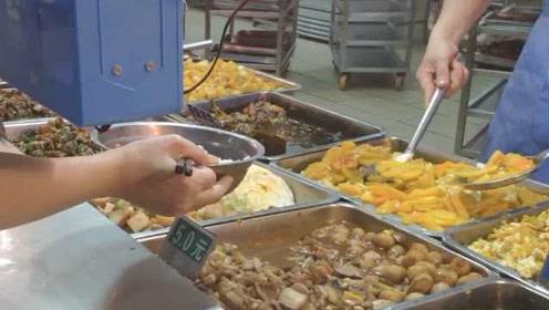 高校食堂供应扶贫农产品,学生点赞:菜品新鲜,又能帮助农民