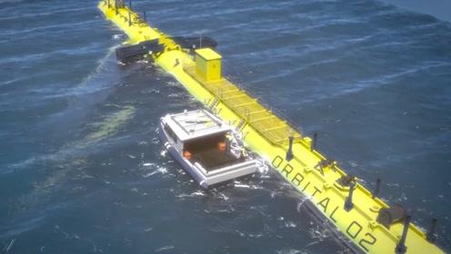 首个利用潮汐发电的设备,建成后又将造福人类