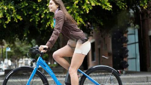 老外发明女性专用自行车,一辆高达6万美金?