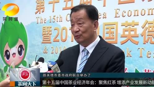 【茶业经济年会】王庆会长:中国红茶未来发展潜力巨大!