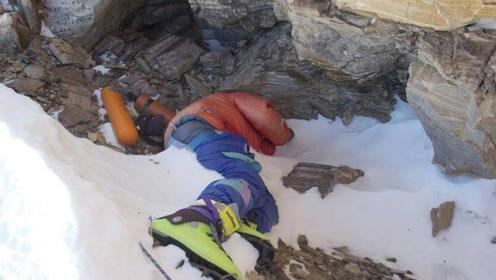 珠穆朗玛峰上著名的尸体,原地沉睡了23年,至今无人掩埋!