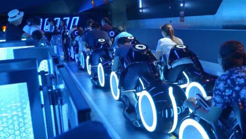 上海迪士尼超刺激的项目,体验一次瞬间腿软,没胆子千万别玩!