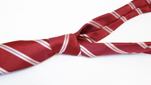 男女都适合的打领带方法,1分钟快速打好,不会打领带的试一试