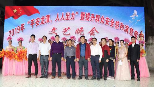 龙潭镇2019提升群众安全感和满意度文艺晚会