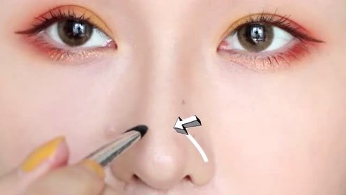 西柚莫吉托妆容画法,瞬间提升你的气质