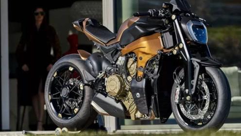 摩托中的超级跑车!1103CC引擎,217匹马力,性能强悍,10万欧元