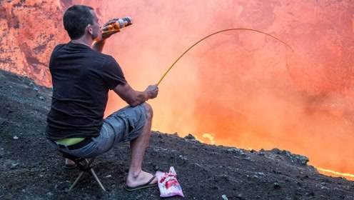 4种奇葩的做饭方式,将整座火山拿来烧烤,吃货的世界我们不懂