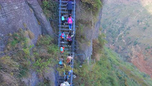 世界上最危险的村庄,在悬崖上与世隔绝数百年,就在咱中国