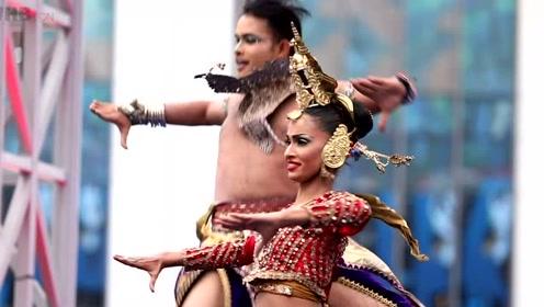 当斯里兰卡舞蹈遇上中国越剧