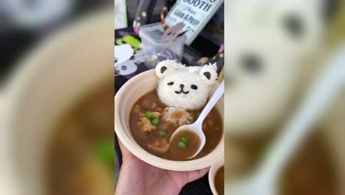 日式牛囊饭,看着好吃,就是分量太少!