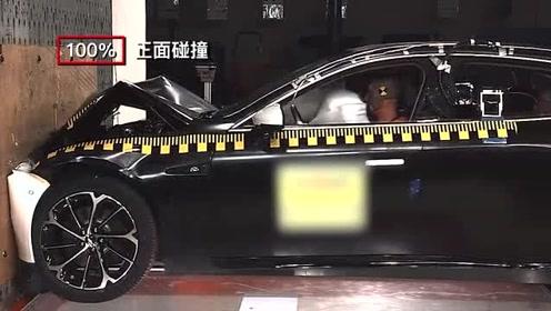 """小鹏P7碰撞试验进行中,""""超纲""""科目全面检验安全实力"""