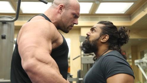 重320斤的大力士,如今转行练健美,一身肌肉无人能敌!
