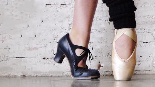 """当""""芭蕾舞""""遇上""""弗拉明戈""""!看完我也想学跳舞"""