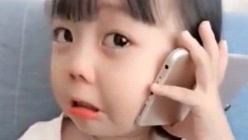 小棉袄不愧是戏精,奶奶接通电话的那一刻,瞬间哭诉了起来