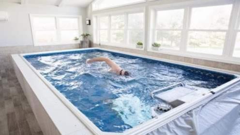 黑科技泳池:仅十平米却无边无际,已获15亿投资!