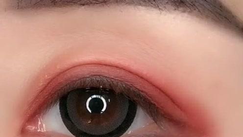 适合冬天的眼妆,超级温暖有力量,新手必看