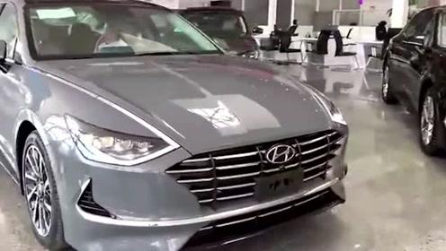 现代索塔纳9来啦!高颜值合资B级车,配真皮方向盘不到16万