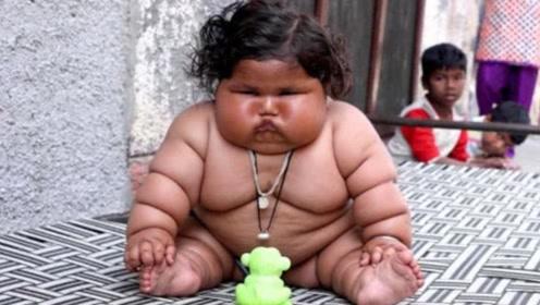 """出生轰动一时的14斤""""巨婴"""",如今10年过去了,他成什么样了"""