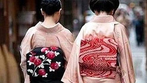 """为什么日本女人和服后都要背个""""小枕头""""?看完恍然大悟!"""