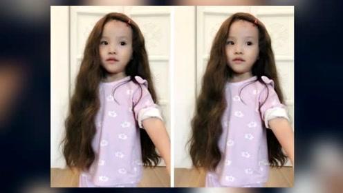 欧弟女儿终于长大了,颜值比妈妈还要美,一袭卷发堪比洋娃娃