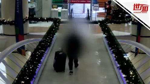 运尸画面曝光!22岁富家女见网友被杀 嫌犯将裸尸塞行李箱运走