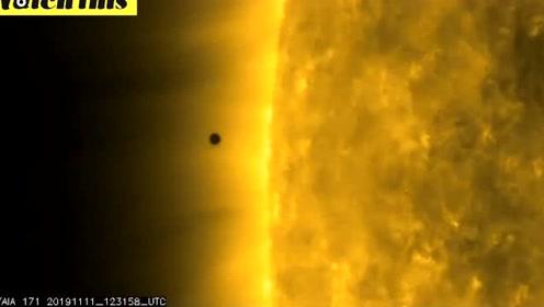 "NASA公布""水星凌日""精彩画面 下次再看要过13年"