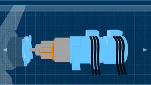 风力发电机里面什么结构?为什么转那么慢,还能大量发电
