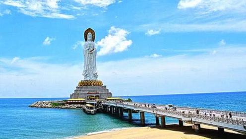 """中国""""最高""""的观音像,高达108米耗资8亿建成,就在海南?"""