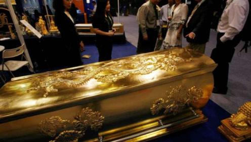 我国出土一口黄金棺材,这次专家却没急着打开,里面有什么东西吗