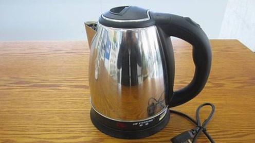 用热水壶烧水,这两点可要注意了!否则烧水喝比塑料还毒,长点心