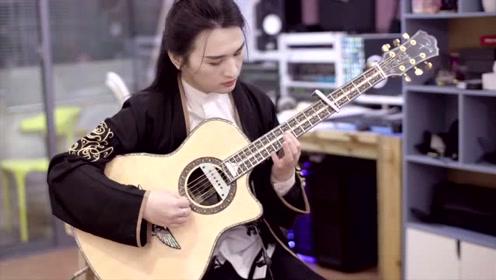 叶锐文吉他演奏《女儿情》琴声优美动听