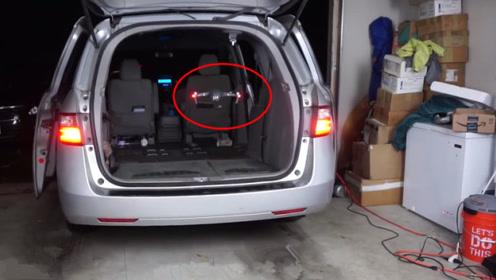 无人机在车内飞行,汽车行驶后会发什么?