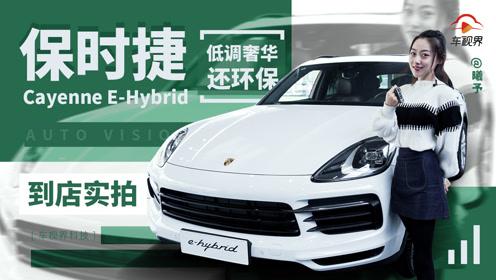 不仅环保,情怀格调都有,Cayenne E-Hybrid到店