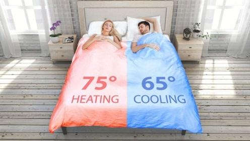 """牛人发明""""智能床"""",能自动铺床调节温度,网友:再也不用抢被子了!"""