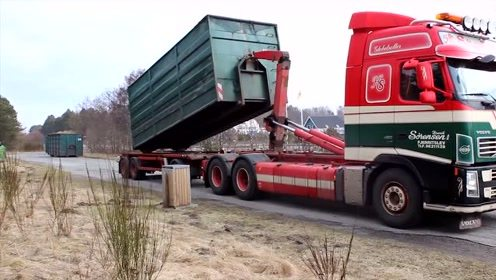 看了美国的货车装货,才知道什么叫先进