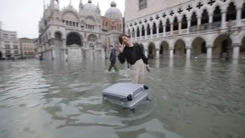 威尼斯遭史上第二大洪水侵袭 但冲不垮人们心中的乐观