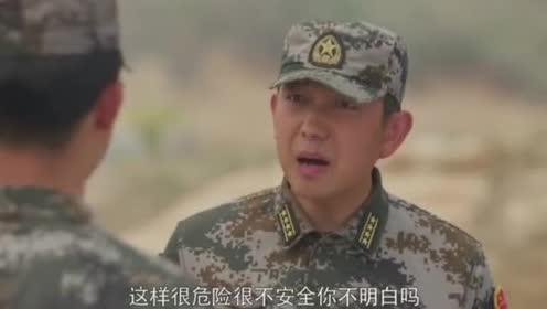 特种兵训练打实弹!参谋长到训练场后却叫停了训练