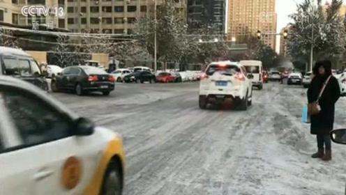 中央气象台继续发布寒潮暴雪双预警