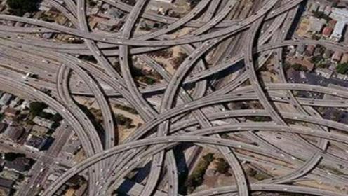 中国最牛最复杂的立交桥,走错一个路口就是一日游,导航都崩溃了