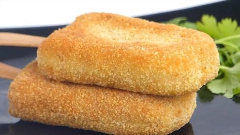 韩国特制炸鸡雪糕,金黄黄看着太美味,网友:和普通炸鸡有区别吗