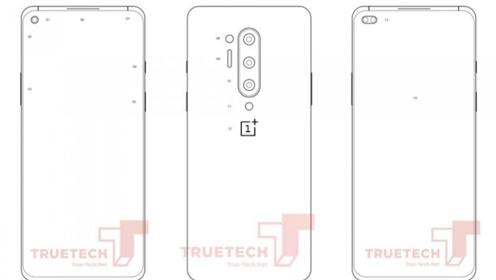 一加8系列手机官方PDF图曝光:前置单/双打孔摄像头