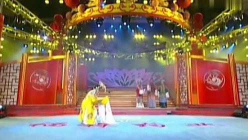 李树建演唱豫剧《三哭殿》,下位去劝一劝贵妃娘娘,真是精彩