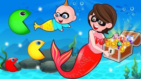 男孩游泳时偶遇蝌蚪,怎料他们错认男孩当妈,青蛙妈妈都急哭了!